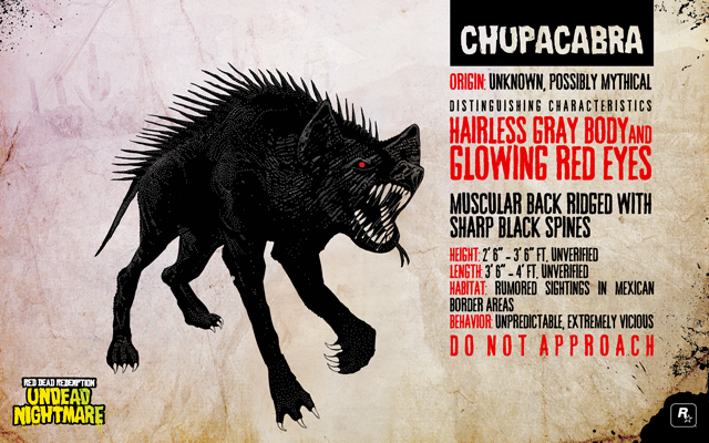 Chupacabra in Red Dead Redeption