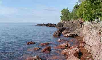 Pressie il mostro del lago Superior in America