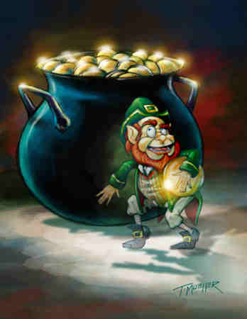 Video di un Leprechaun folletto