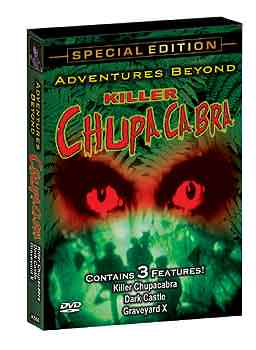 Adventures Beyond Chupacabra DVD