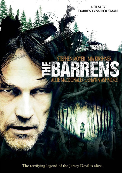 La locandina del film The Barrens