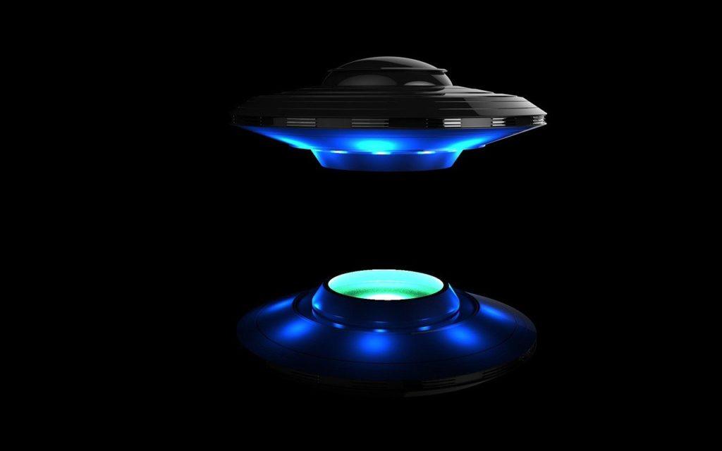 Astronave aliena riproduzione