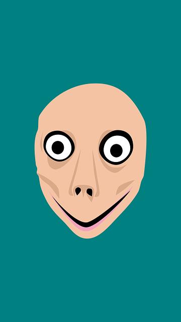 Momo Creepypasta in internet