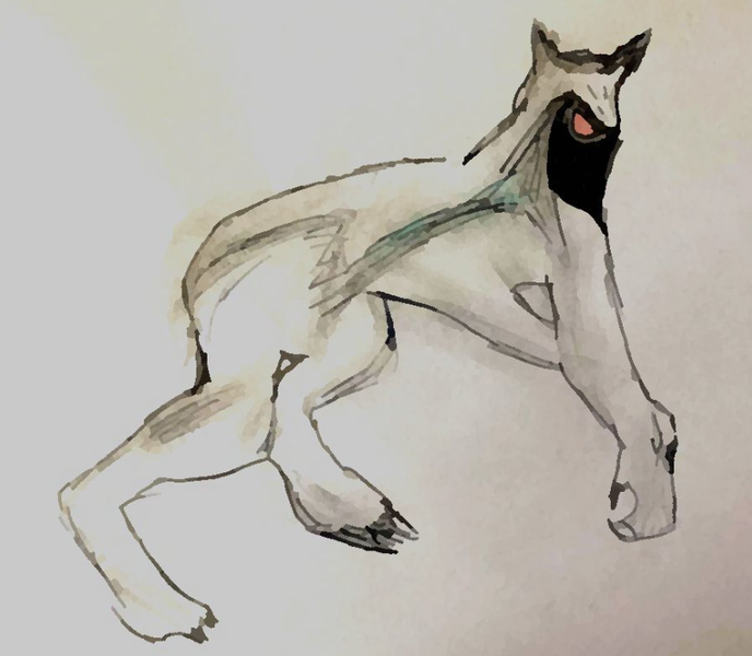 Skinwalker creature della notte  Jakubdrastich2, CC BY-SA 4.0, via Wikimedia Commons