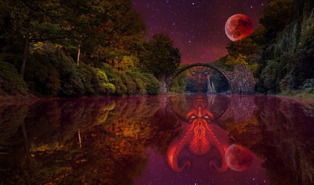 Il ponte del Diavolo nel parco del Frignano