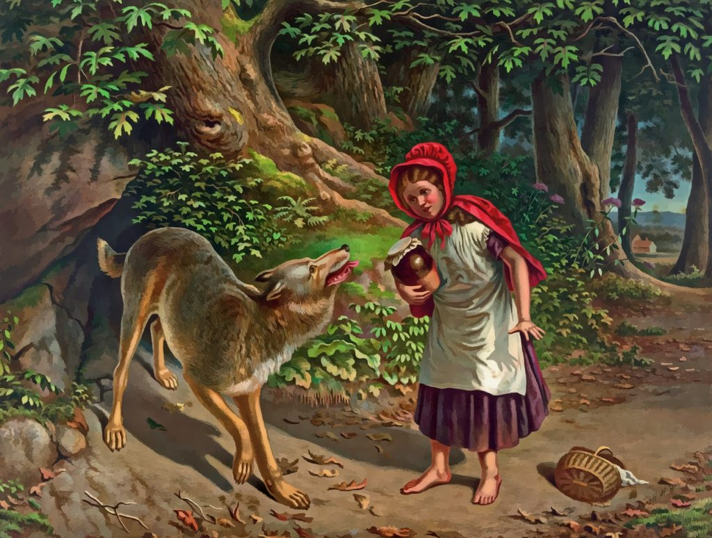 L'uomo lupo detto anche licantropo