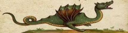 Rappresentazione del drago Tarantasio